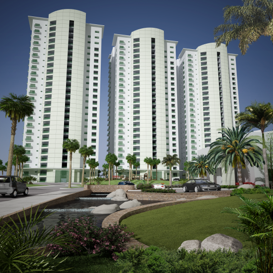 Escondido Towers, Luxury condo development in Cerritos